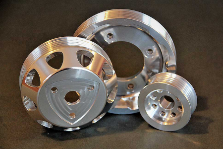 Ryan Rotary Performance racing crank pulley set
