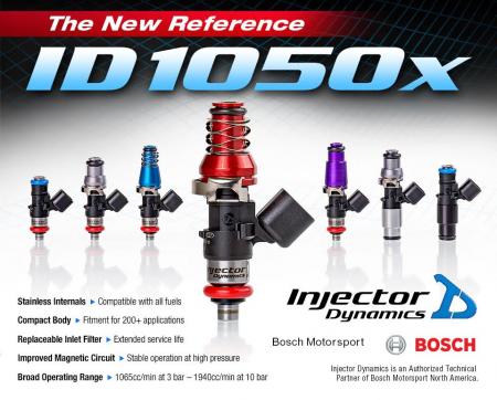 Rx8 Injector Dynamics ID1050X Fuel Injectors for S1 & S2.