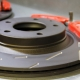 EBC Performance Grooved Discs and EBC Red Stuff Pads -Rear