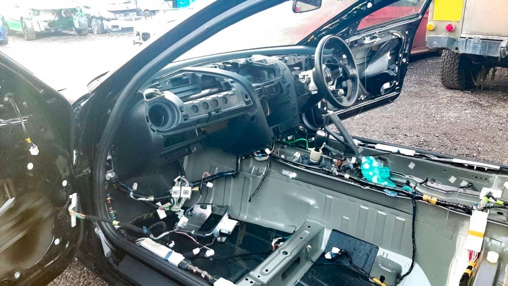 RRP Rally Car Strip Down